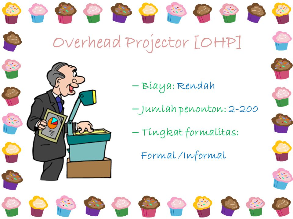 Overhead Projector [OHP]